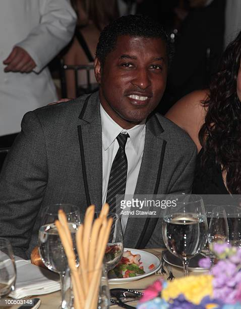 Kenneth Babyface Edmonds attends the 9th Annual ARTrageous Gala Dinner and Art Auction at Cipriani Wall Street on May 24 2010 in New York City
