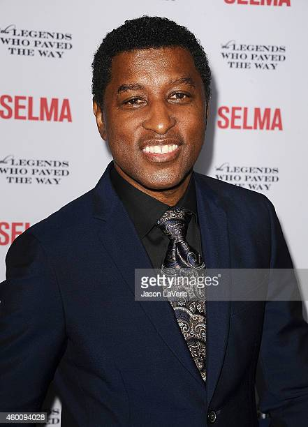 Kenneth 'Babyface' Edmonds attends the 'Selma' and the Legends Who Paved the Way gala at Bacara Resort on December 6 2014 in Goleta California
