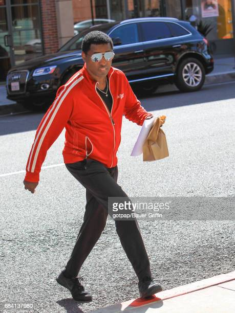 Kenneth 'Babyface' Edmonds is seen on May 16 2017 in Los Angeles California