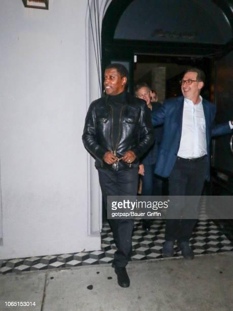 Kenneth 'Babyface' Edmonds is seen on November 24 2018 in Los Angeles California
