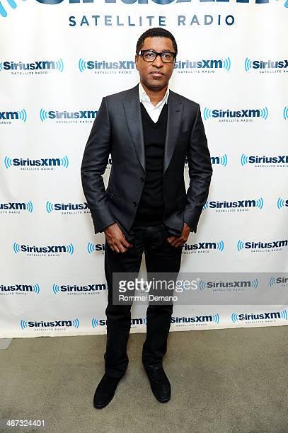 Kenneth 'Babyface' Edmonds visits at SiriusXM Studios on February 6 2014 in New York City