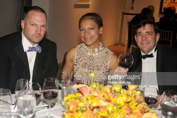 Kenneth Bernardo Angela Smith Domzal and Scott Black attend ALZHEIMER'S DRUG DISCOVERY FOUNDATION Presents The Fourth Annual Connoisseur's Dinner at...