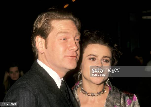 Kenneth Branagh and Helena Bonham Carter at the NY Premiere of 'The Theory of Flight' Sony Lincoln Square New York City