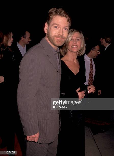 Kenneth Branagh and Julie Christie at the Premiere of 'Hamlet' Academy of Motions Picture Arts Sciences Beverly Hills