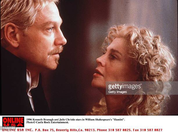 Kenneth Branagh and Julie Christie stars in William Shakespear's 'Hamlet'