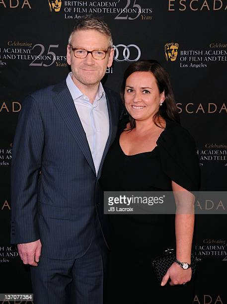 Kenneth Branagh and wife Lindsay Brunnock attend BAFTA Los Angeles' 18th annual Awards Season Tea Party held at Four Seasons Hotel Los Angeles at...