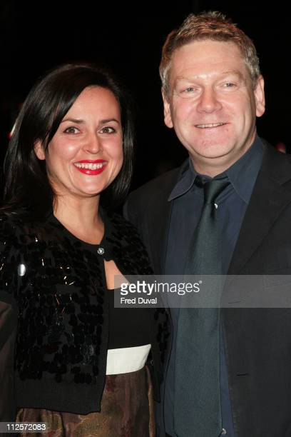 Kenneth Branagh and wife Lindsay Brunnock attend 'The Magic Flute' UK Premiere at the Odeon West End on November 26 2007 in London England