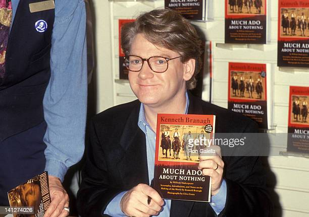 Kenneth Branagh at the Kenneth Branagh Autographs Copies of Much Ado About Nothing Westwood