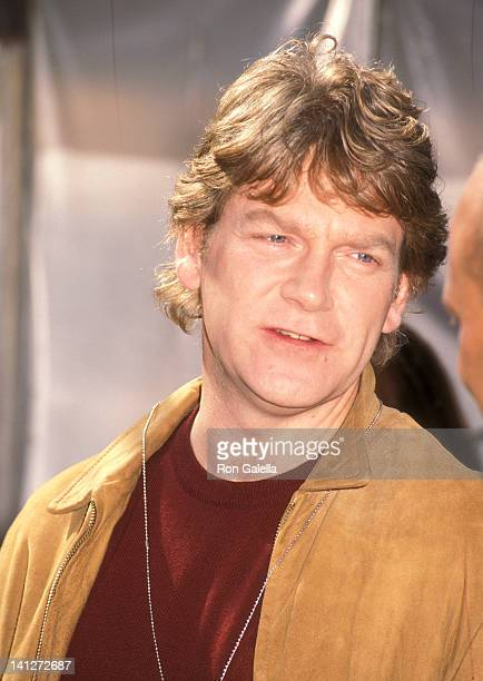 Kenneth Branagh at the On the Set of Woody Allen's 'Celebrity' Atrium Studio New York City