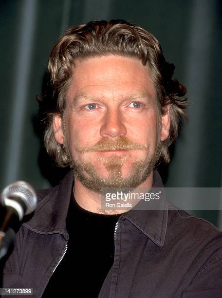 Kenneth Branagh at the Press Conference for the Movie 'Celebrity' Avery Fisher Hall at Lincoln Center New York City