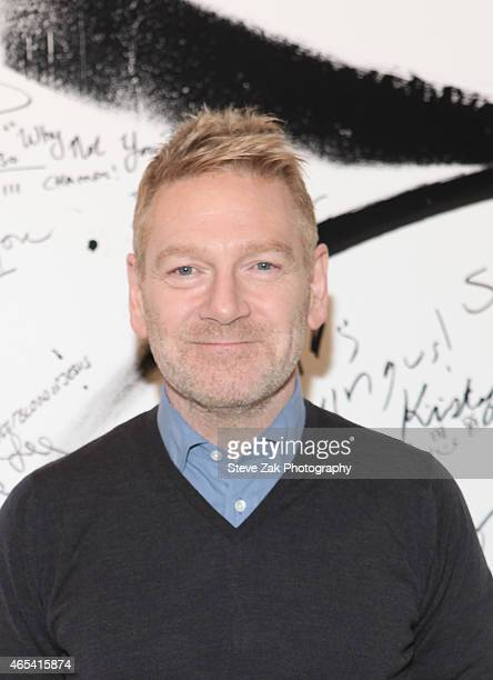 Kenneth Branagh attends AOL Build Speaker Series at AOL Studios In New York on March 6 2015 in New York City