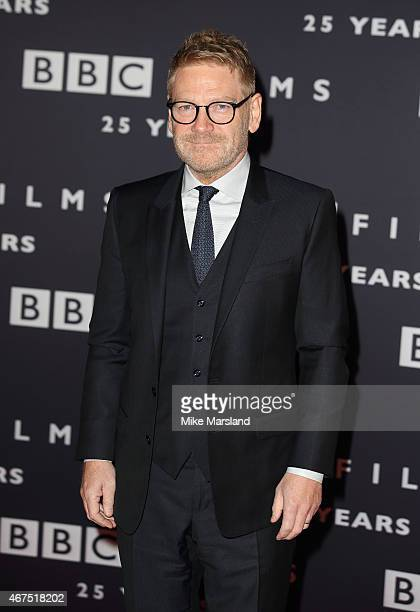 Kenneth Branagh attends the BBC Films' 25th Anniversary Reception at BBC Broadcasting House on March 25 2015 in London England