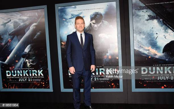 Kenneth Branagh attends the DUNKIRK premiere in New York City