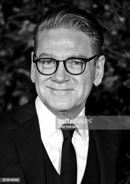 Image has been digitally manipulated Kenneth Branagh attends The London Evening Standard Theatre Awards at The Old Vic Theatre on November 13 2016 in...