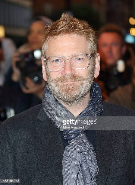 Kenneth Branagh attends the press night of 'Photograph 51' at Noel Coward Theatre on September 14 2015 in London England