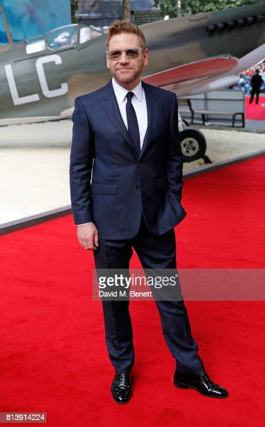 Kenneth Branagh attends the World Premiere of 'Dunkirk' at Odeon Leicester Square on July 13 2017 in London England
