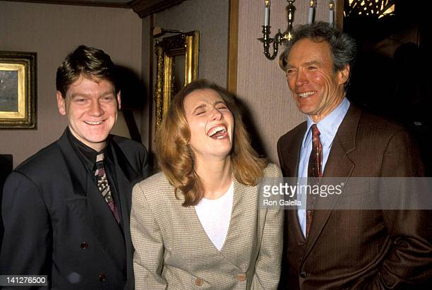 Kenneth Branagh Emma Thompson and Clint Eastwood at the 18th Annual LA Film Critics Association Awards Bel Age Hotel West Hollywood