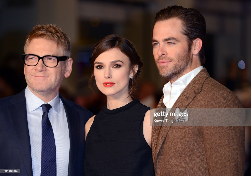 'Jack Ryan: Shadow Recruit' UK Premiere - Red Carpet Arrivals : News Photo