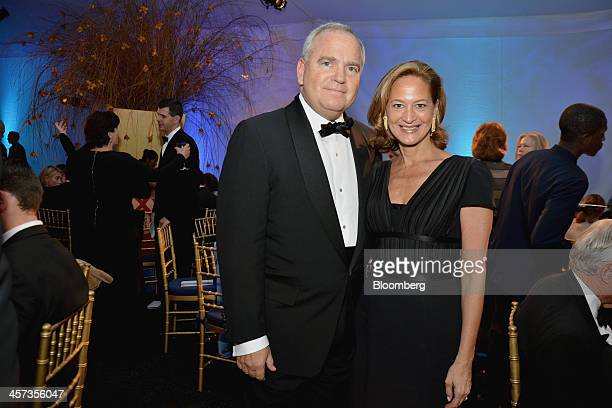 Kenneth Buckfire chief executive officer of Miller Buckfire Co left and his wife Noreen Buckfire attend the New York Philharmonic Opening Gala...