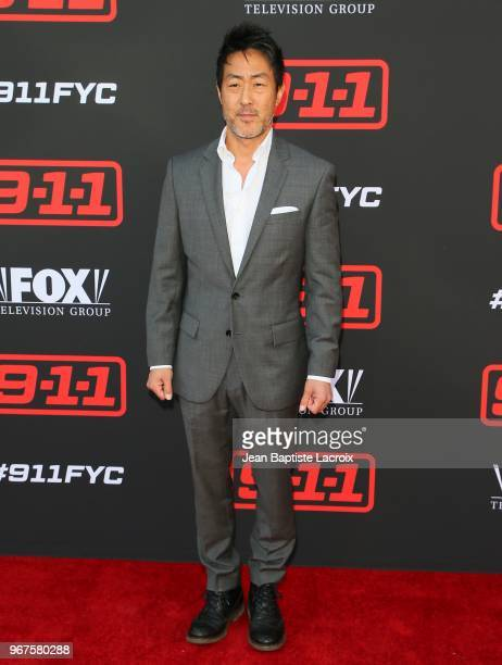 Kenneth Choi attends FYC event for FOX's '911' held at Saban Media Center on June 4 2018 in North Hollywood California