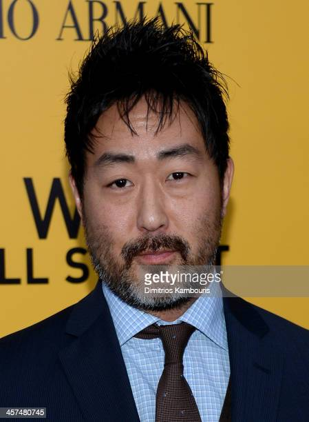 Kenneth Choi attends the The Wolf Of Wall Street premiere at the Ziegfeld Theatre on December 17 2013 in New York City