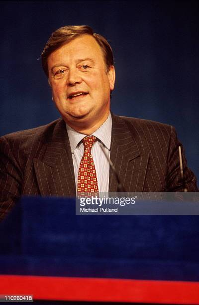 Kenneth Clarke at the Conservative Party Conferennce, UK, 1994.