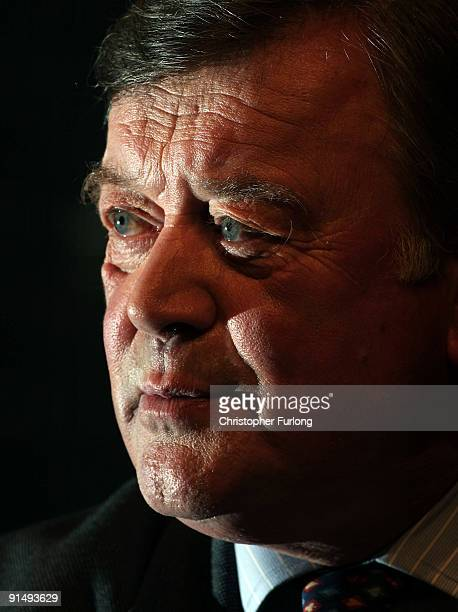 Kenneth Clarke, Shadow Secretary of State for Business, takes part in a business debate with delegates on the second day of the Conservative Party...