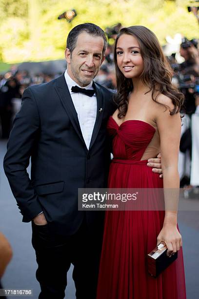 Kenneth Cole and Catie Cole arrive at amfAR's 20th Annual Cinema Against AIDS at Hotel du CapEdenRoc on May 23 2013 in Cap d'Antibes France