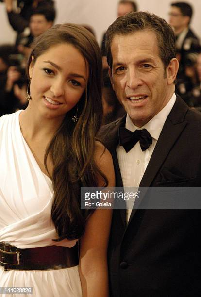 Kenneth Cole and daughter Catie Cole attend Schiaparelli And Prada Impossible Conversations Costume Institute Gala on May 7 2012 at the Metropolitan...