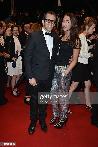 Kenneth Cole and daughter Catie Cole attend the premiere of 'Only God Forgives' at The 66th Annual Cannes Film Festival on May 22 2013 in Cannes...