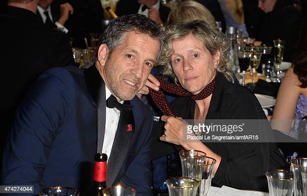 Kenneth Cole and Frances McDormand attend amfAR's 22nd Cinema Against AIDS Gala Presented By Bold Films And Harry Winston at Hotel du CapEdenRoc on...