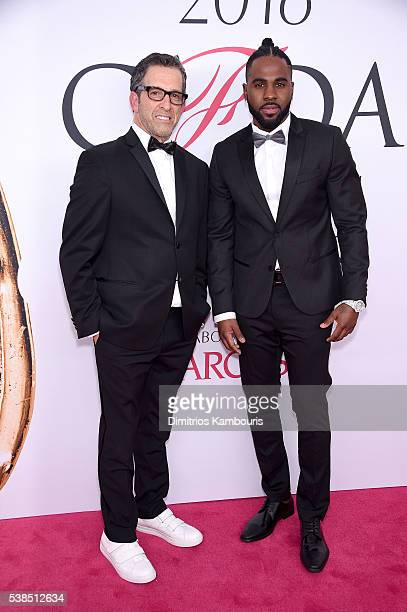 Kenneth Cole and Jason Derula attend the 2016 CFDA Fashion Awards at the Hammerstein Ballroom on June 6, 2016 in New York City.