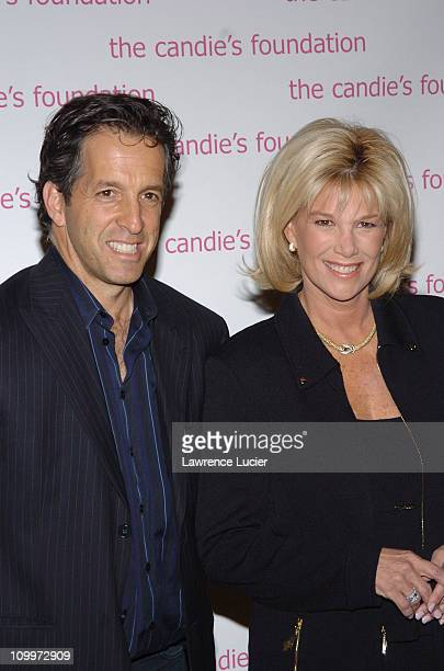 Kenneth Cole and Joan Lunden during The Event To Prevent A Benefit for the Candie's Foundation for the Prevention of Teenage Pregnancy at Gotham Hall...