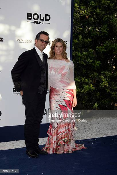 "Kenneth Cole and Maria Cuomo Cole at the ""AMFAR"" Party during the 59th Cannes Film Festival."