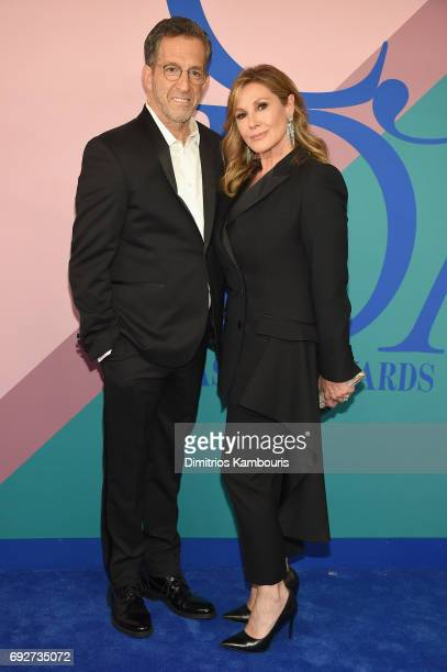 Kenneth Cole and Maria Cuomo Cole attend the 2017 CFDA Fashion Awards at Hammerstein Ballroom on June 5 2017 in New York City
