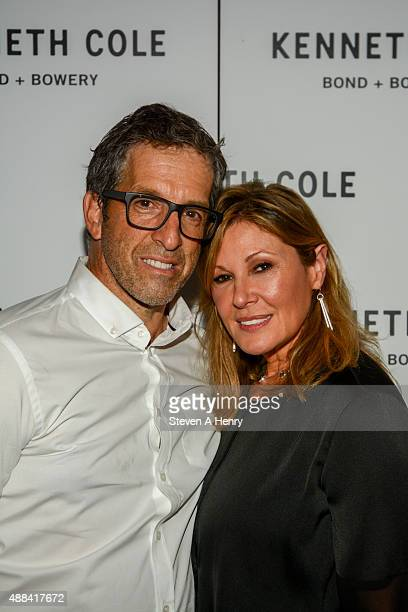 Kenneth Cole and Maria Cuomo Cole attend the grand opening of the Kenneth Cole concept store on September 15 2015 in New York City