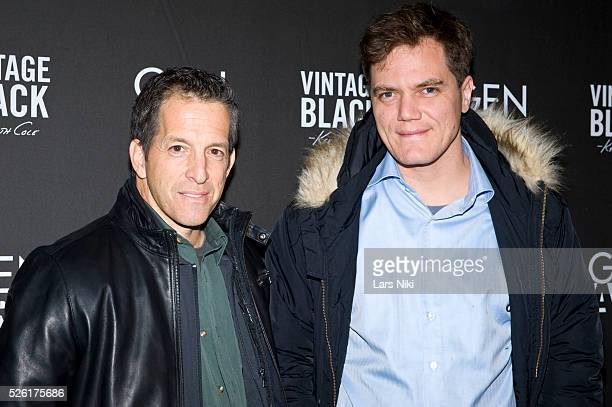 Kenneth Cole and Michael Shannon attend the 'Kenneth Cole Vintage Black' party during the 2010 Sundance Film Festival at the Sky Lodge in Park City