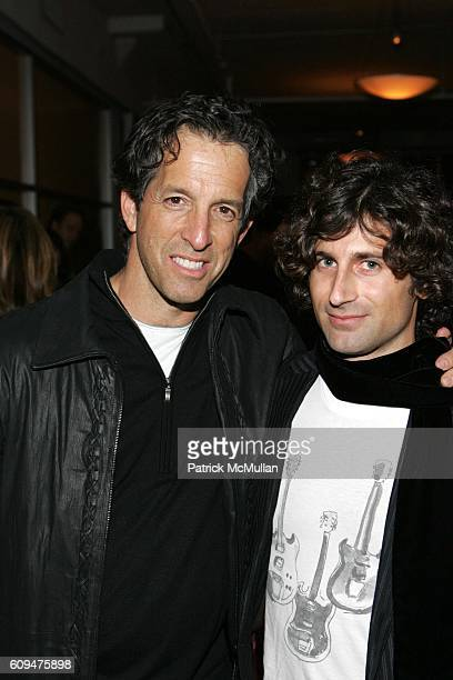 Kenneth Cole and Todd DiCiurcio attend Jon Bon Jovi and Kenneth Cole Team Up For An Unforgettable Night of Fundraising At 'RSVP To Help' at Tribeca...