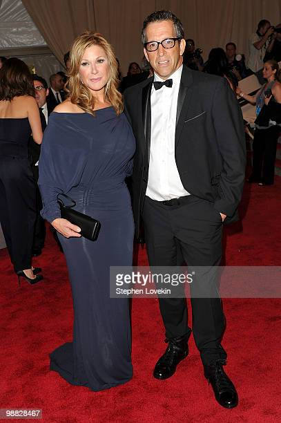 Kenneth Cole and wife Maria Cuomo attend the Costume Institute Gala Benefit to celebrate the opening of the American Woman Fashioning a National...
