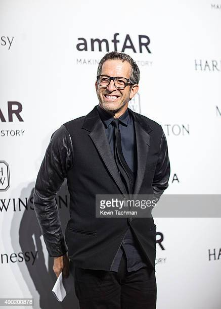 Kenneth Cole attends amfAR Milano 2015 at La Permanente on September 26 2015 in Milan Italy