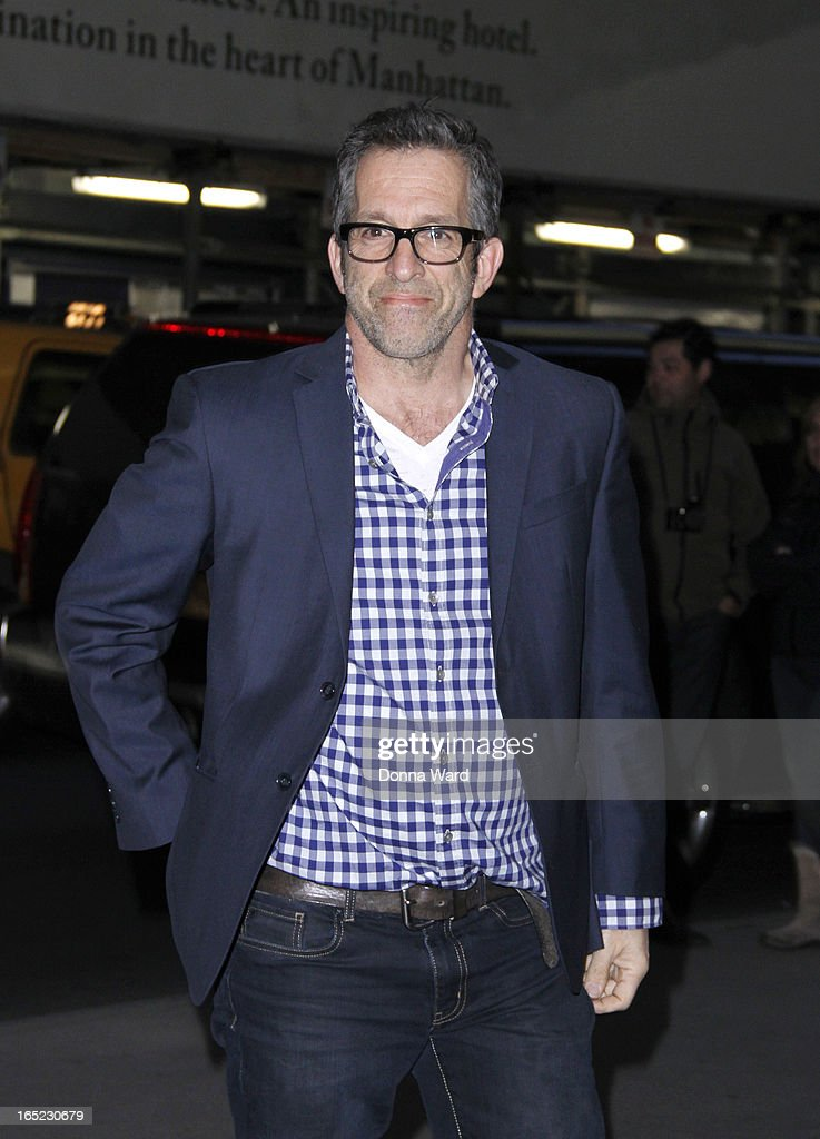 Kenneth Cole attends 'The Company You Keep' New York Premiere at The Museum of Modern Art on April 1, 2013 in New York City.