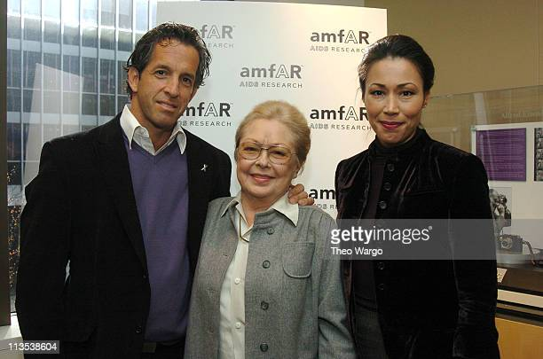 Kenneth Cole Chairman of the Board Dr Krim Founding National Chairman and Ann Curry NBC Today Show