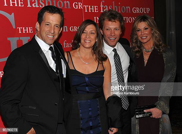 Kenneth Cole Dorothea HurleyJon Bon Jovi and Maria Cole attend Fashion Group International's 26th annual Night Of Stars at Cipriani Wall Street on...