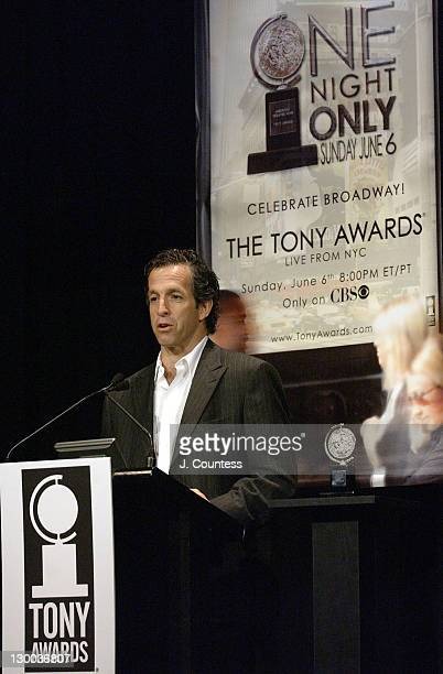 Kenneth Cole during 58th Annual Tony Awards Nominee Announcements at Hudson Theater in New York City New York United States