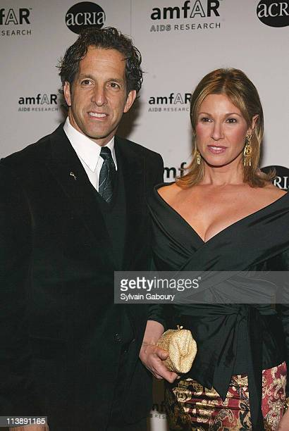 Kenneth Cole Maria during amfAR and ACRIA Honor Herb Ritts for His Work and Activism at Sotheby's in New York New York United States