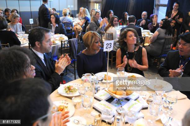 Kenneth Cole Mary J Blige and Suzy Welch attend HELP USA Graduate Scholarship Awards Luncheon 2010 at Four Seasons Restaurant on November 9 2010 in...