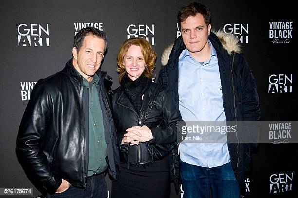 Kenneth Cole Melissa Leo and Michael Shannon attend the 'Kenneth Cole Vintage Black' party during the 2010 Sundance Film Festival at the Sky Lodge in...