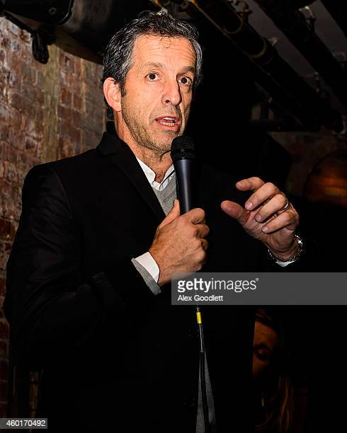 Kenneth Cole speaks during an event for the St Luke Foundation For Haiti at Acme on December 8 2014 in New York City