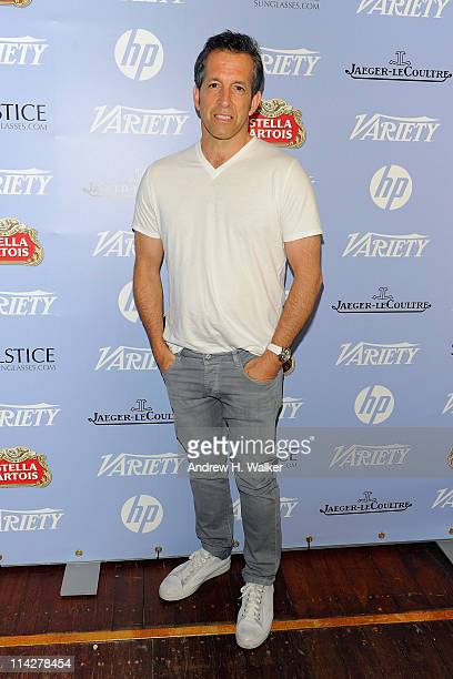 Kenneth Cole visits the Variety Studio at the Stella Artois Lounge during the 64th Annual Cannes Film Festival at Carlton Beach on May 17, 2011 in...