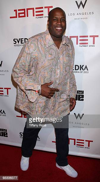 Kenneth Crear arrives at Janet Jackson's Number Ones American Music Awards After Party at the Whiskey Blue on November 22 2009 in Westwood California